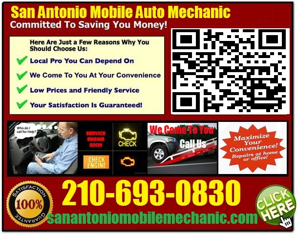 Auto Mechanic Near Me >> Mobile Mechanic San Antonio 210-693-0830 Auto Repair Service Come To You - We Fix Foreign Import ...