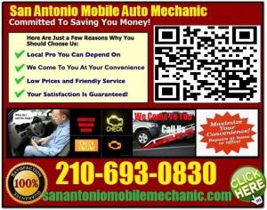 Mobile Mechanic NewBraunfels Texas Auto Car Repair Service shop on wheels