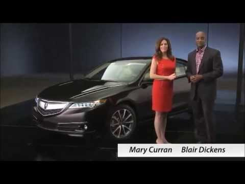 2015 Acura TLX Car Review Video