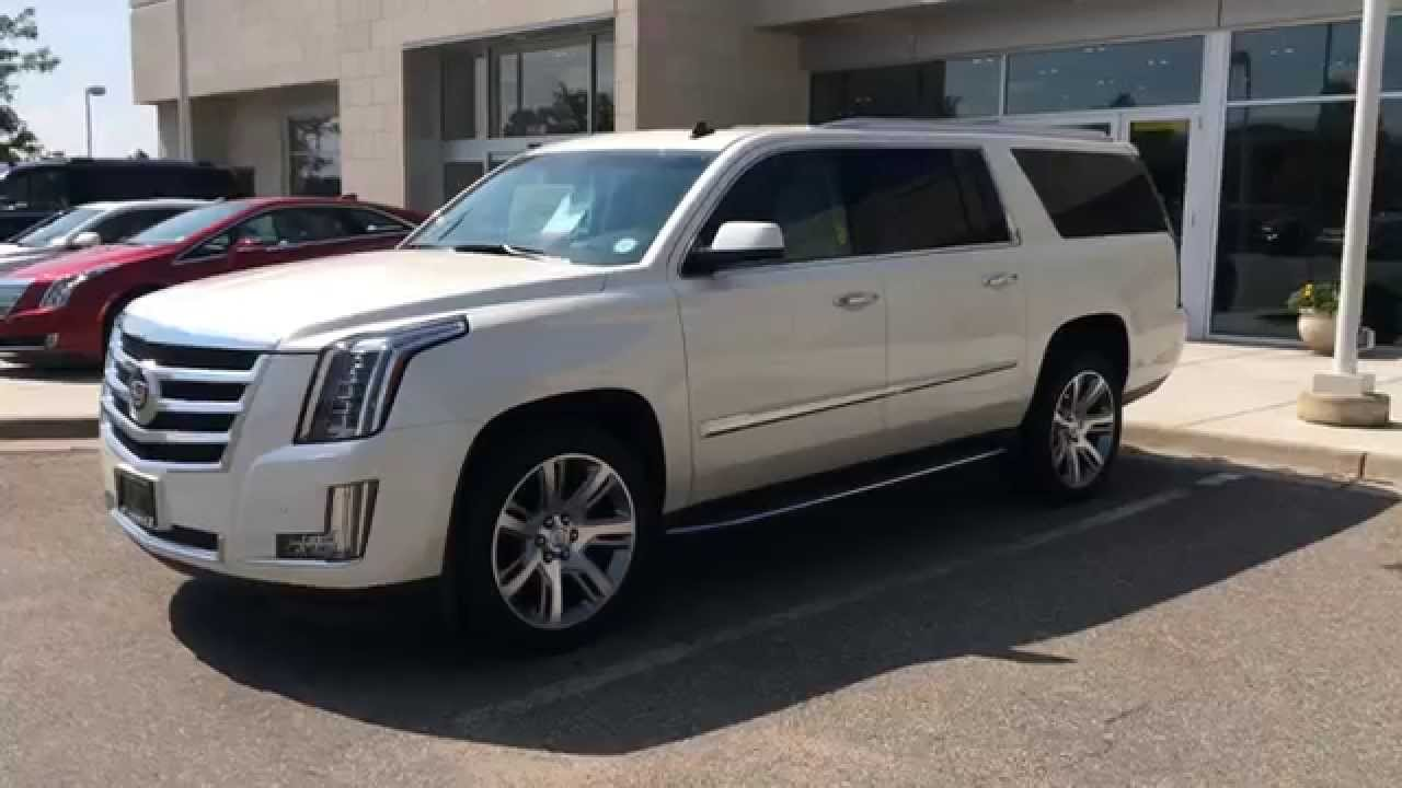 2015 Cadillac Escaladeesv Car Review Video
