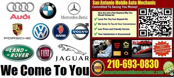 Mobile Mechanic San Antonio 210-693-0830 Auto Repair ...