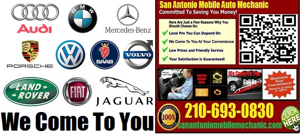Mobile Foreign Import Auto Car Repair Service San Antonio